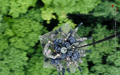 GIGN – Nacelle escape en vol