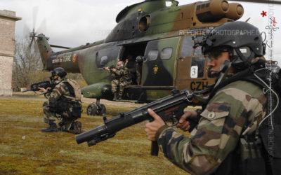 Courir après les Commandos Parachutistes de l'Air