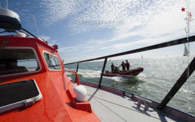 Reportage photo en milieu humide, chez les sauveteurs en mer