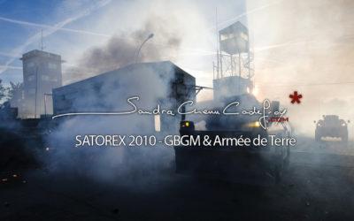 POM / Satorex 2010, GBGM & Armée de Terre