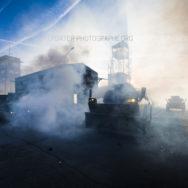 VBRG en contrejour dans les gazs lacrymogènes [Ref: 1410-22-0210]