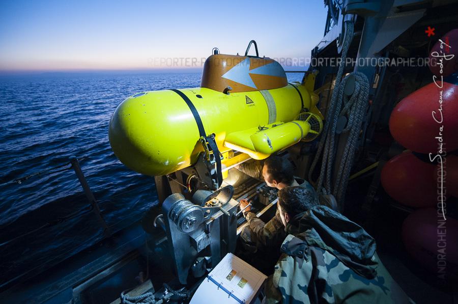 CMT Andromède, plongeurs démineurs et lever du jour…