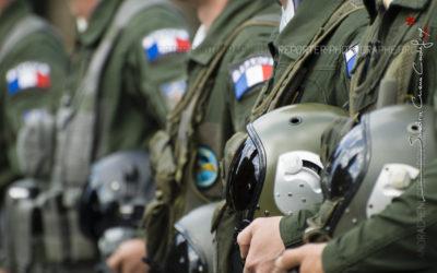 Défilé de pilotes à pied au 14 juillet 2011