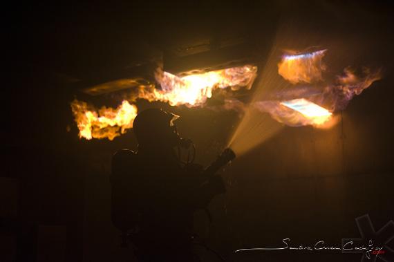 Sapeur pompier du SDIS 73 luttant contre le roll-over du CFETIT (Ref: 2111-01-0761) par Sandra Chenu Godefroy