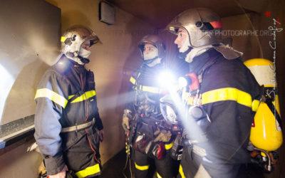 Compte rendu d'un binôme de sapeurs pompiers [Ref:2110-03-1211]