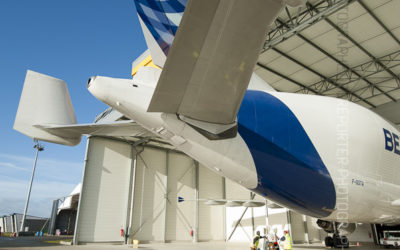 Empennage de queue d'un Airbus Beluga [Ref: 3513-19-0288]