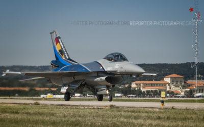 Belgian F16 Solo Display à l'atterrissage [Ref:3513-08-2102]