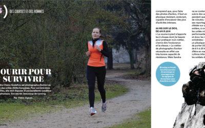 «Courir pour survivre» dans le magazine Runner's World