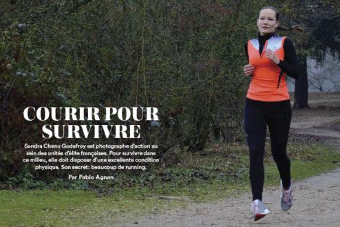 Courir pour survivre une ITW de Sandra Chenu Godefroy dans Runner's World 67