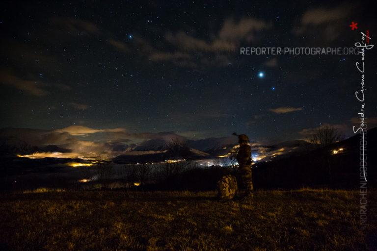 Candidat GCM attendant son départ de nuit [Ref:4317-10-1415]