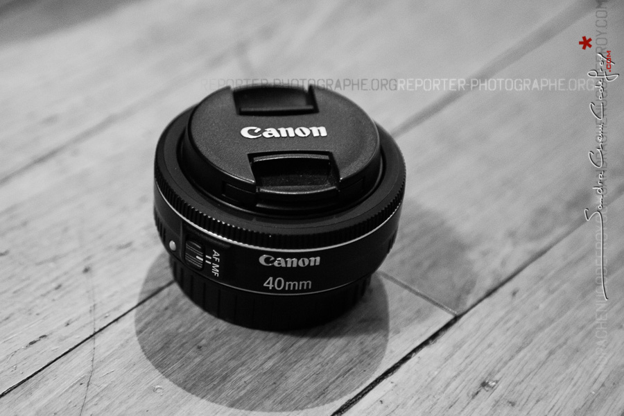 Un 40mm F/2,8 Canon tout simple !