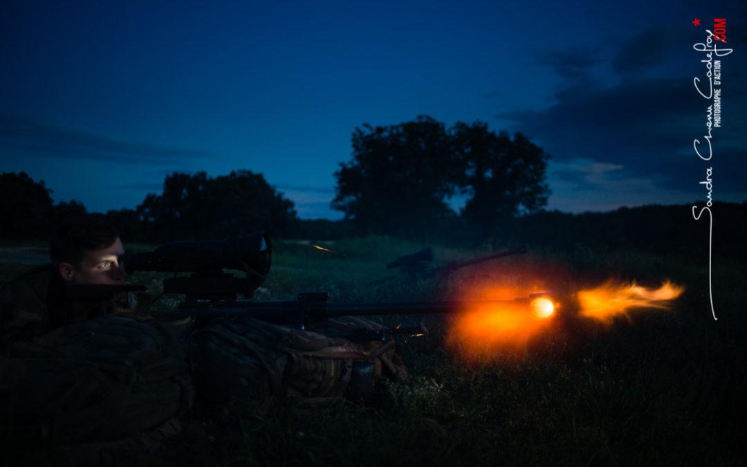 Tir de nuit au PGM Hécate II