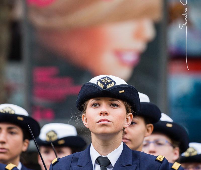 Anne-Gaëlle, élève commissaire des armées