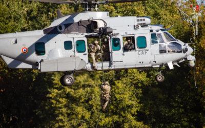 Une démonstration des capacités des forces armées terrestres