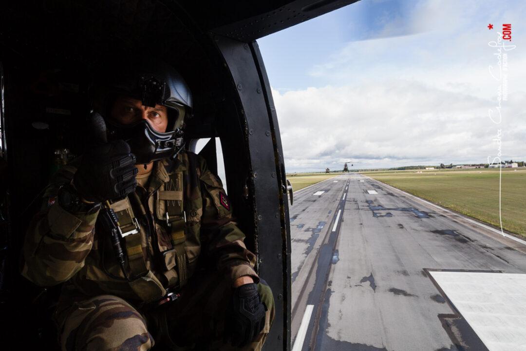 Exercice Baccarat 2019 organisé par la 4ème BAC dans le grand Est. Coopération de 4 GTIA (1eRHC, 3eRHC, 5eRHC et bataillon multinational) dans le cadre d'un scenario de combat de haut intensité en zone tempérée.