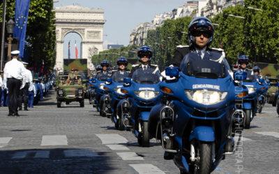 Défilé du 14 juillet / Conseils pour le défilé motorisé