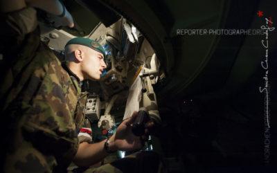 Swiss Raid Commando 2009 – Pilote de blindé Mowag Piranha