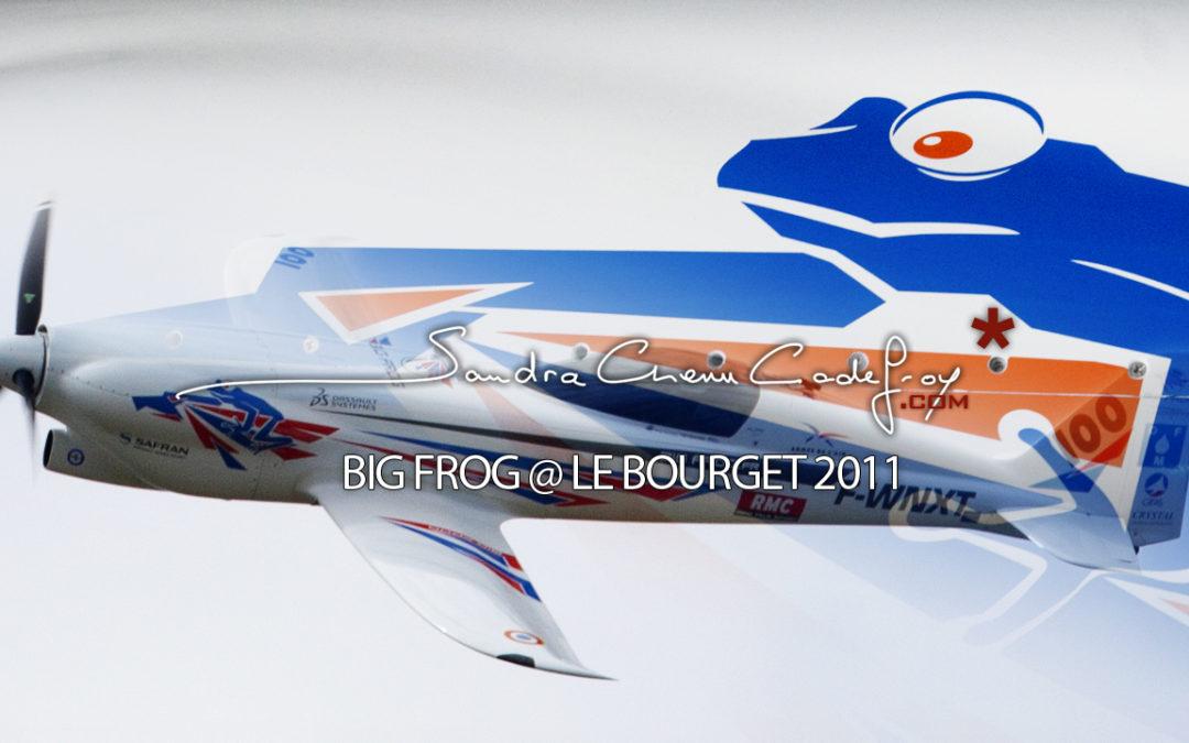POM / Big Frog @ Le Bourget 2011