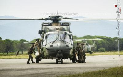 Démonstrations hélicoptères lors des 60 ans de l'ALAT