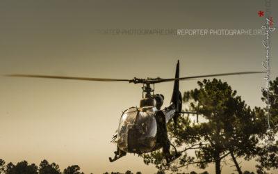 Démonstration du 13 régiment de dragons parachutistes lors des JPO
