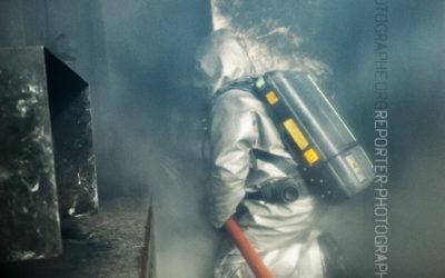 Binôme de marins-pompiers au CEFPS [Ref:2212-02-0629]