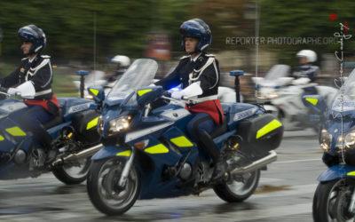 Motards de la Gendarmerie [Ref:4510-10-0688]