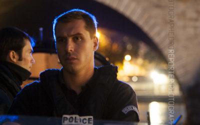 Policier de la Brigade Fluviale de Paris [Ref:1313-10-0485]