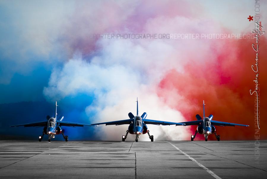 Patrouille de France & fumigènes [Ref:3511-19-0270]
