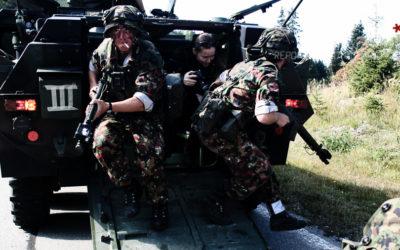 En reportage au Swiss Raid Commando