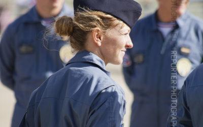 Femme mecano de la Patrouille de France [Ref:3512-15-0452]