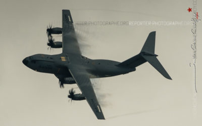 A400M en vol au Salon du Bourget [Ref:3515-08-0100]