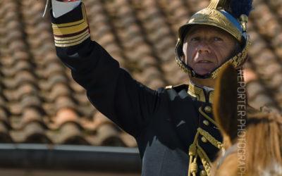 Capitaine commandant la fanfare de cavalerie [Ref:1215-05-0387]