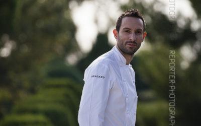 Portrait du cuisinier Mika Mouragnon [Ref:4015-17-0063]