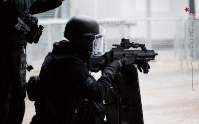Policier du RAID et G36