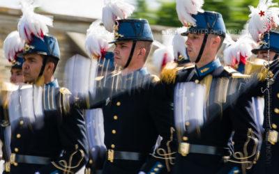 Défilé des élèves de l'ESM Saint-Cyr [Ref:4516-22-2461]