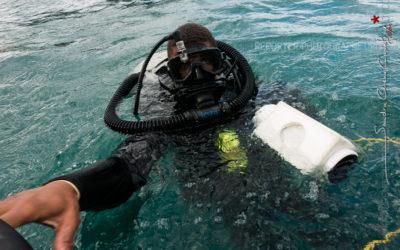 Plongeur démineur de l'US Navy